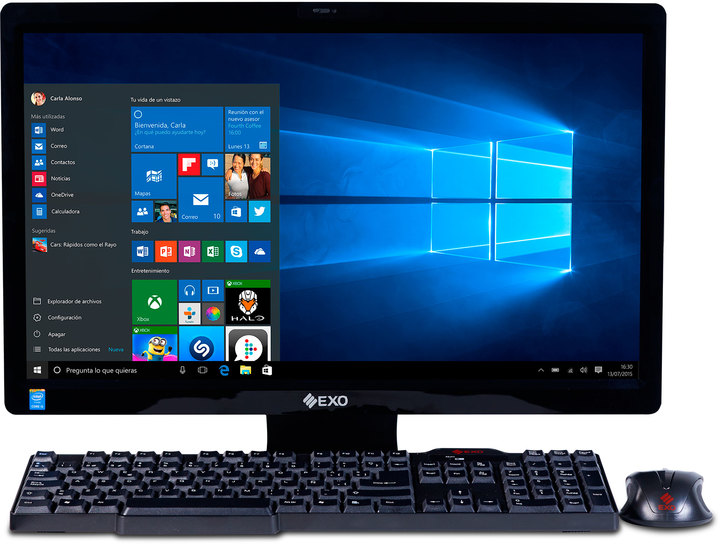 Exo All in one EXO STYLE L5B-H3745 - Procesador Core i3 - 500GB - 4GB RAM