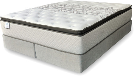 Sealy Juego de Sommiers de 160x200 Resortes Sealy Tilbury (Queen)