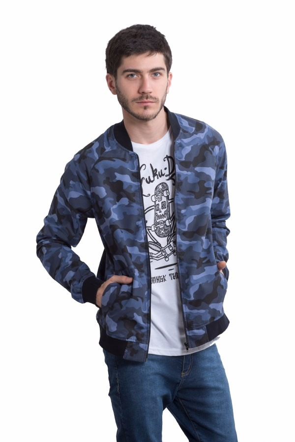 Camperas - Fuku-Do Campera Fuku-do Camuflada