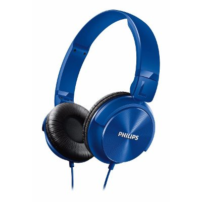 On-Ear - Philips Auriculares Philips Shl3060bl/00 Banda Sujetadora