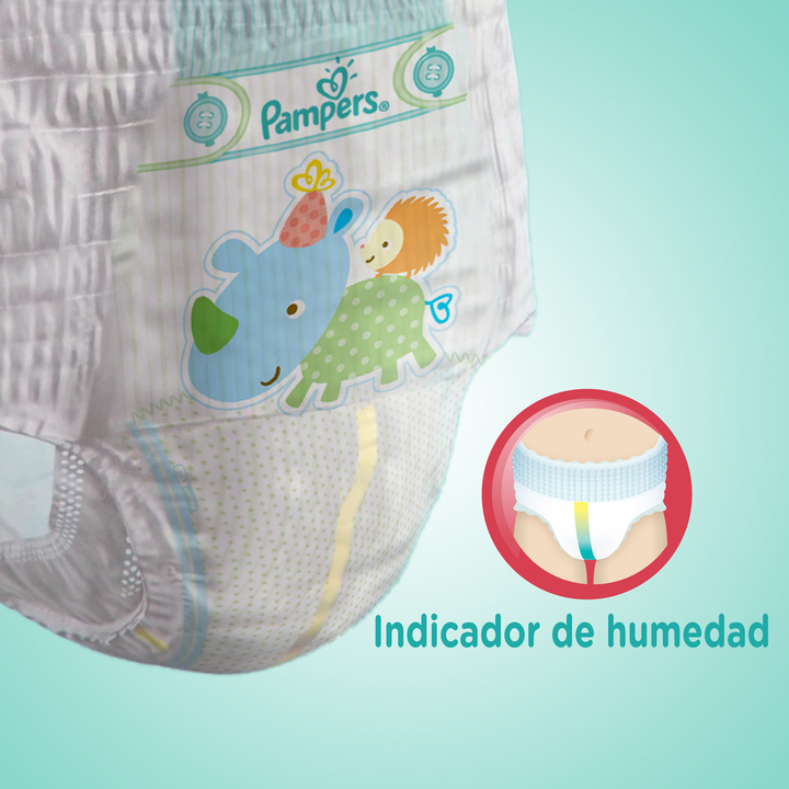 Pañales - Pampers Pañales Pampers Pants P x22 - 4 Packs
