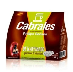 Philips Cafe Cabrales Philips HD1284 Sabor Descafeinado