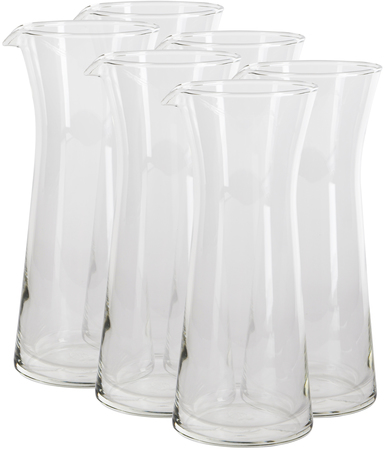 Jarras - Volf Set de 6 Botellas con Pico Volf 290 ml