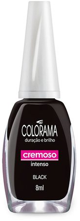 Esmaltes - Colorama Esmalte Colorama Black