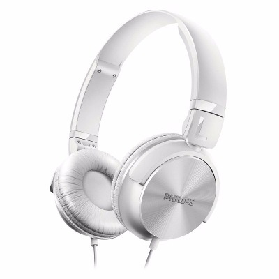On-Ear - Philips Auriculares Philips Shl3060wt/00 Banda Sujetadora