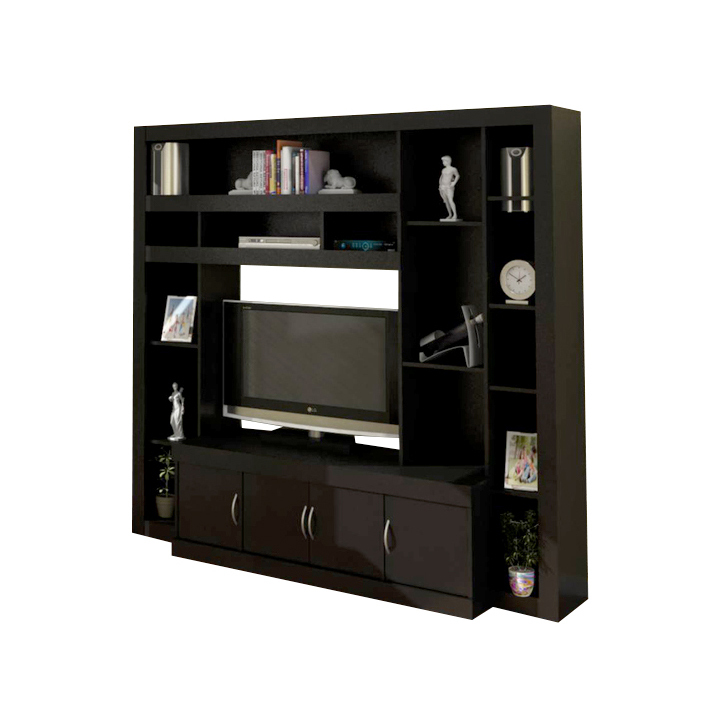 Muebles modulares para tv cheap planos de modular para tv for Racks y modulares para living