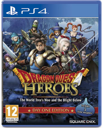 Avenida Store Dragon Quest Heroes: The World Tree's Woe and the Blight Below para PS4