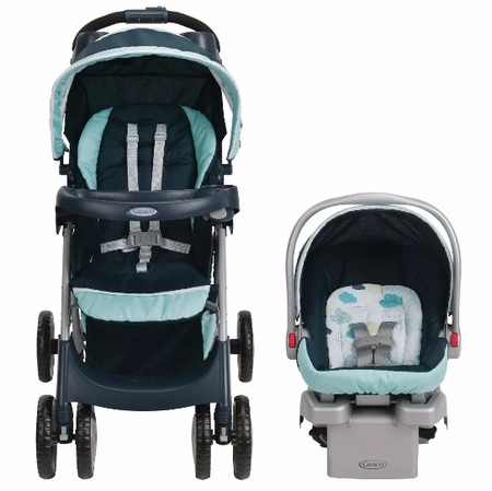 Cochecitos - Graco Travel System Comfy Cruiser Graco