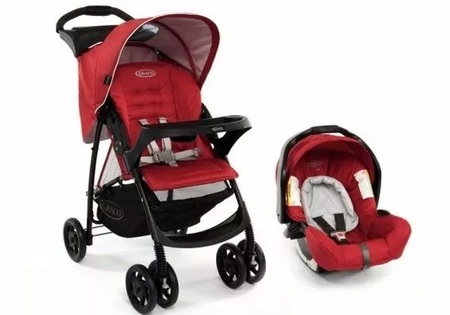 Cochecitos - Graco Travel System Mirage Plus Graco