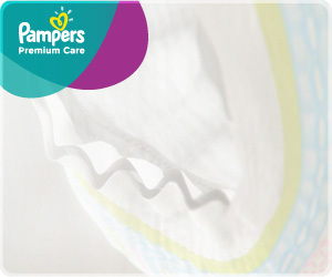 Pañales - Pampers Pañales Pampers Premium Care Suave P x40 - 3 Packs