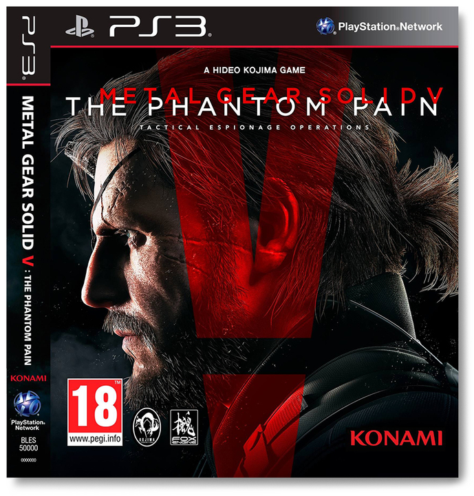 Avenida Store Metal Gear Solid V The Phantom Pain - Day One Edition para PS3