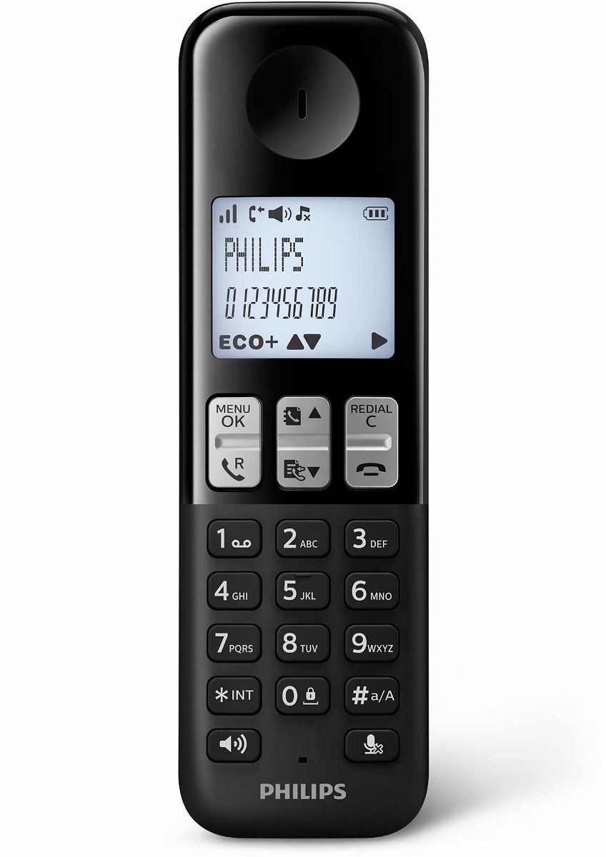Philips Telefono Inalambrico Philips D2351b/77 Contestador