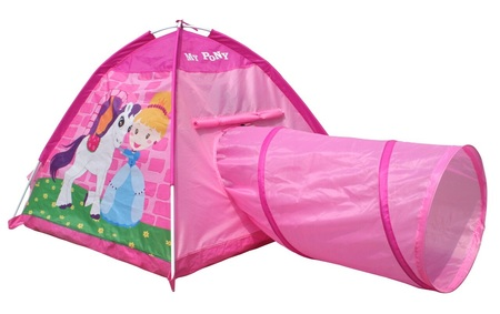 Aire libre - Baby Shopping Carpa infantil Pony con túnel