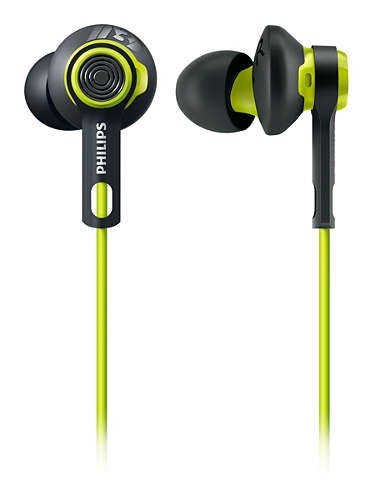 In-Ear - Philips Auriculares Deportivos Action Fit Shq2400cl/00