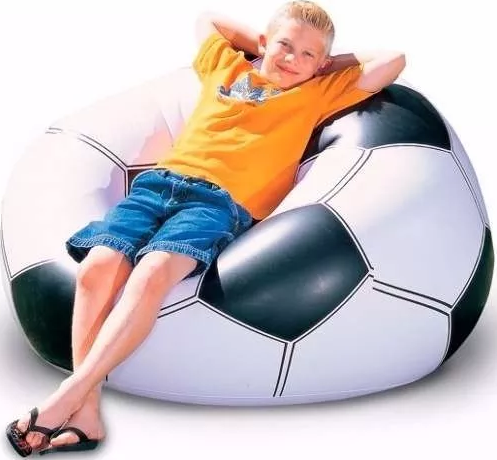 Puffs - Intex Sillon Inflable Intex Puff Fiaca Pelota Futbol