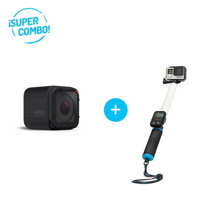 GoPro Combo Camara GoPro Hero Session + Baston GoPole Reach