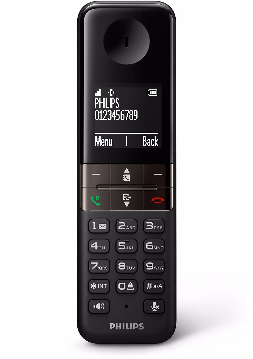 Philips Telefono Inalambrico Philips D4551b/77  Contestador Id