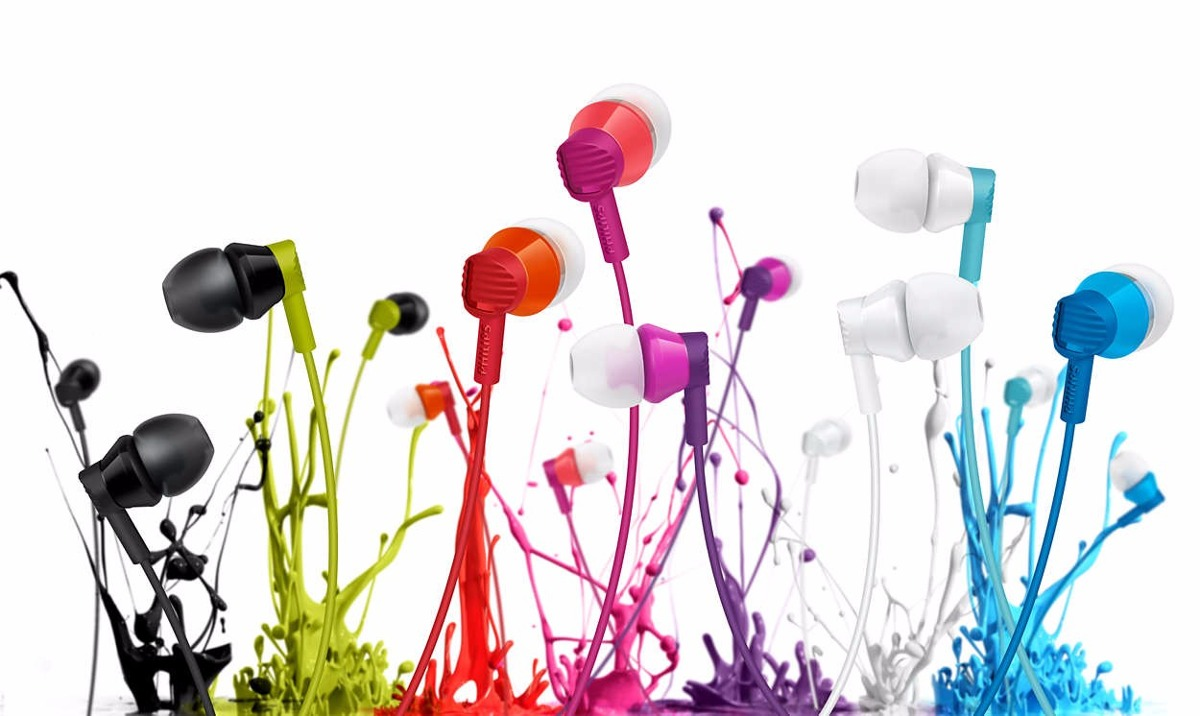 In-Ear - Philips Auriculares Philips SHE3800PP/00 Intrauditivos
