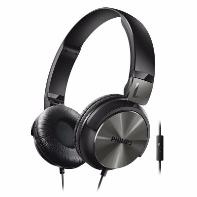 On-Ear - Philips Auriculares Philips SHL3165BK/00 Banda Sujetadora