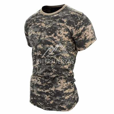 Remeras y Musculosas - Interfuerzas Remera Camuflada Acu Digital