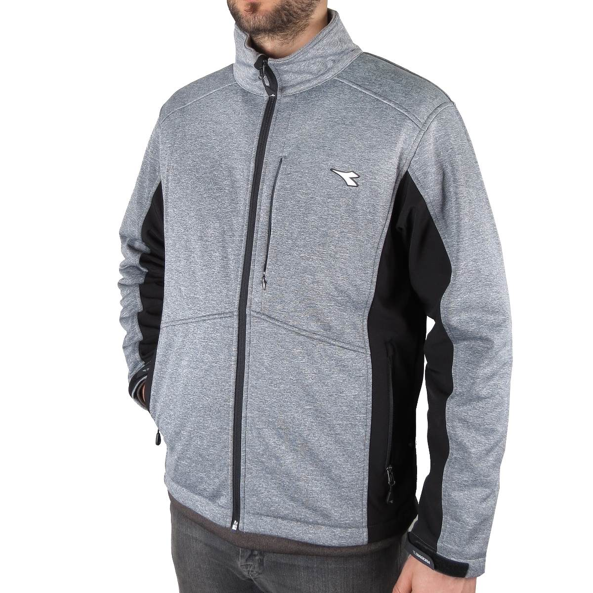 Diadora Campera Diadora Creek Softshell Impermeable Micro Polar Homb