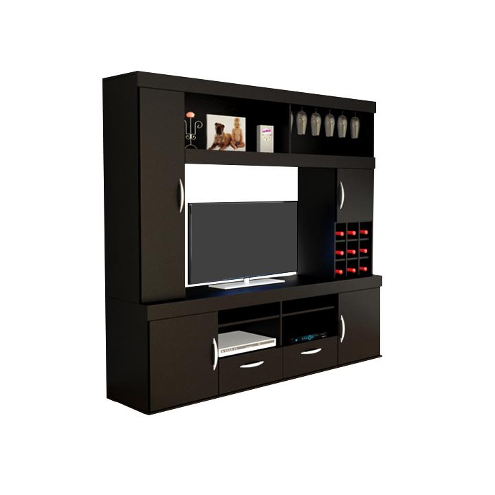 Muebles Rack : Rack modular para tv blanco avenida muebles