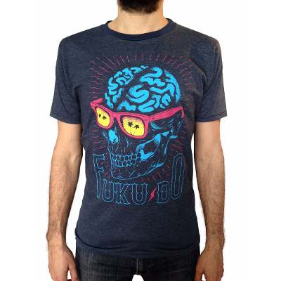 Mangas Cortas - Fuku-Do Remera Cerebro Fuku-do