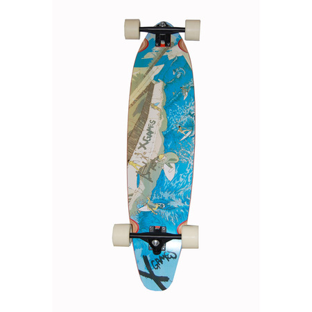 Skate y Longboard - X GAMES Longboard Eternal Waves