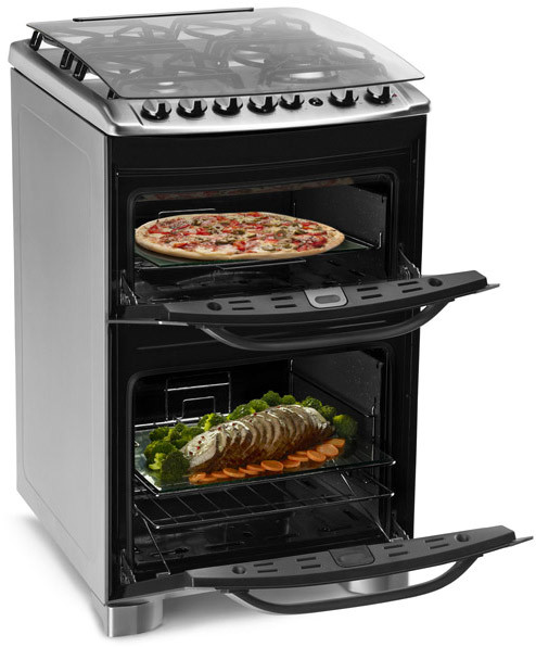Cocina A Gas Electrolux 56dtx Con Grill El Ctrico Electrolux