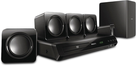 Home theaters - Philips Home Theater Philips con DVD HTD3511/77