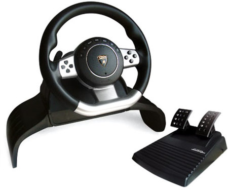 Atomic Volante para PC, PS2, PS3 Lamborghini Evo Racing