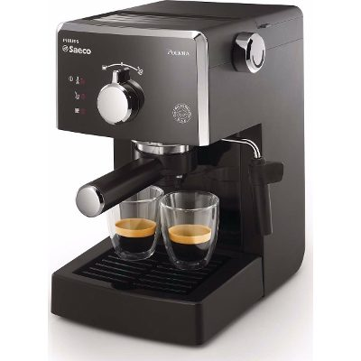 Philips Cafetera Express Philips Saeco Hd8323/42 Espumador 15 Bares