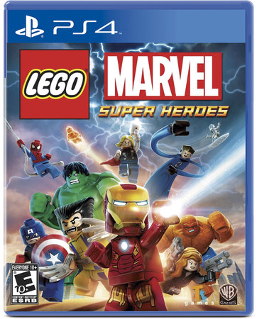 Videojuegos - Sony PS4 LEGO Marvel Super Heroes