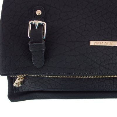 Carteras - Rupless Cartera Pierre Cardin Simil Croco Negra