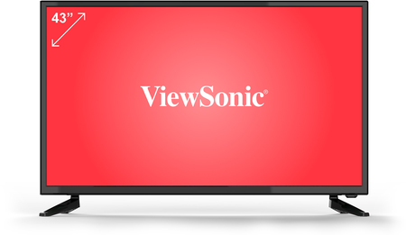 "LCDs - Viewsonic Smart TV 43"" ViewSonic FHD - VTV4360FHD-S"