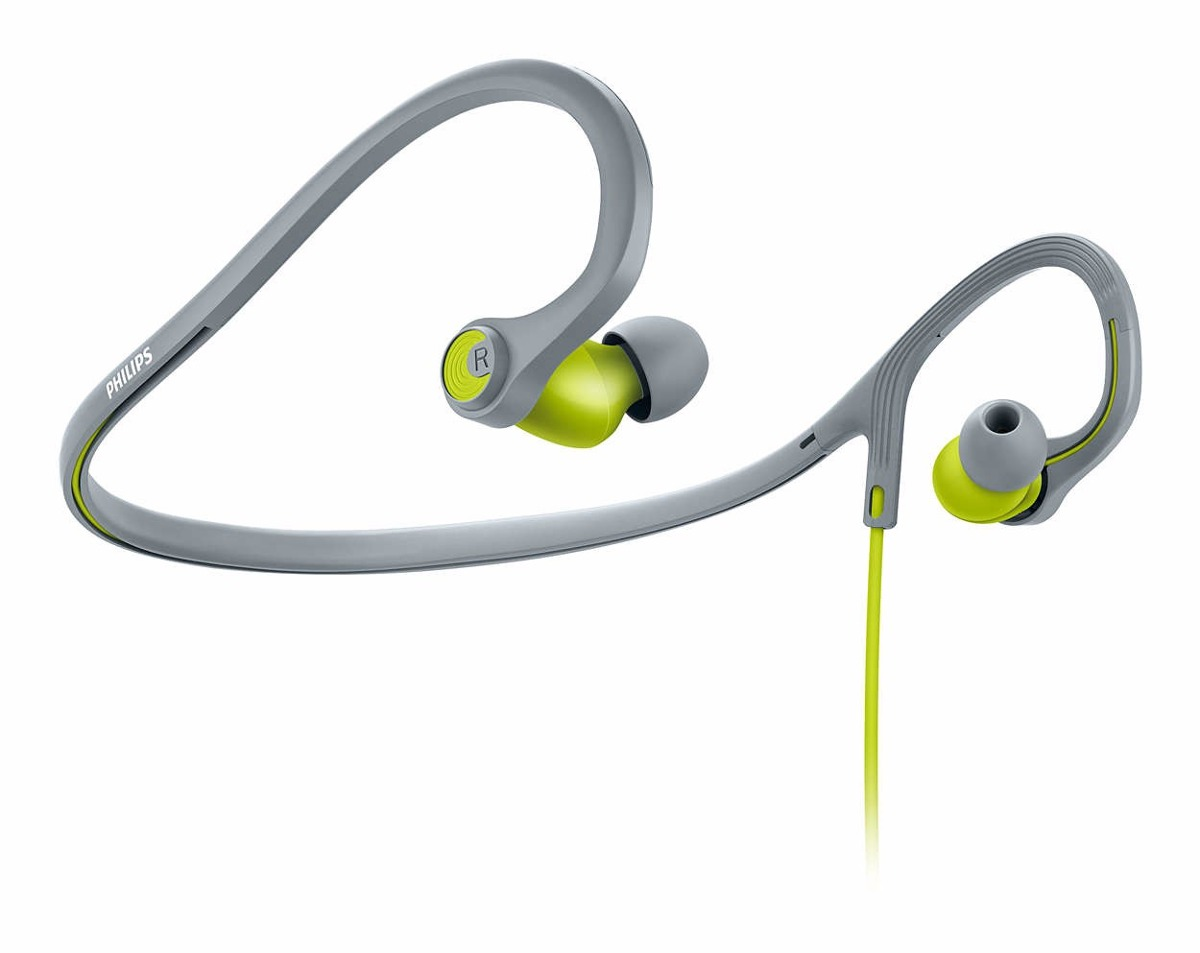 In-Ear - Philips Auriculares Philips Actionfit Deportivos SHQ4300LF/00