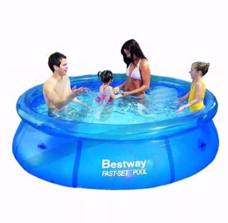 Best Way Pileta Inflable Bestway Fast Set 244 x 66 cm 2300 Lts