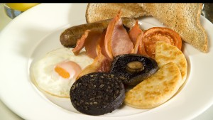 Full English Breakfast Menu- Photograph