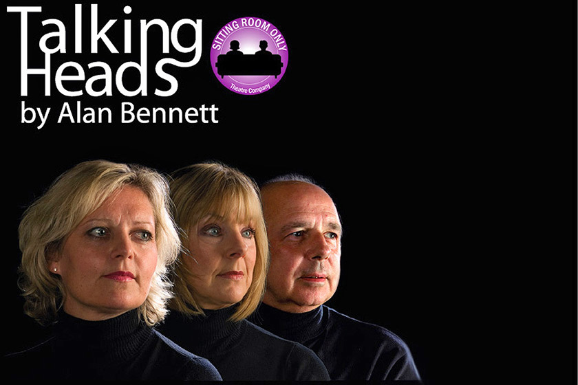 Talking Heads Poster used to promote Alan Bennets play