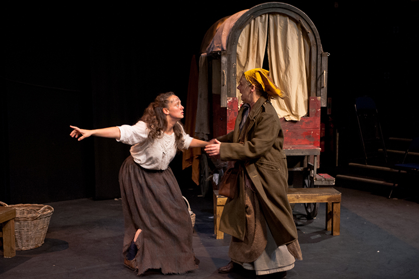 Mother Courage and her Children, Phoitographed in The Bolton Octagon
