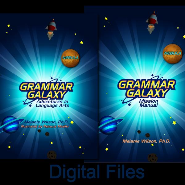 Grammar Galaxy Nebula Digital Kit