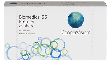 Biomedics 55/55 Premier 6 pack