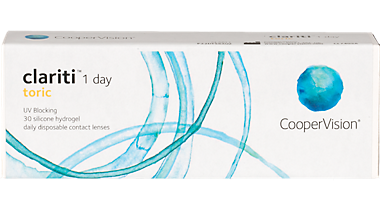 Clariti 1 Day for Astigmatism 30 pack