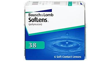 Softlens 38 6 pack