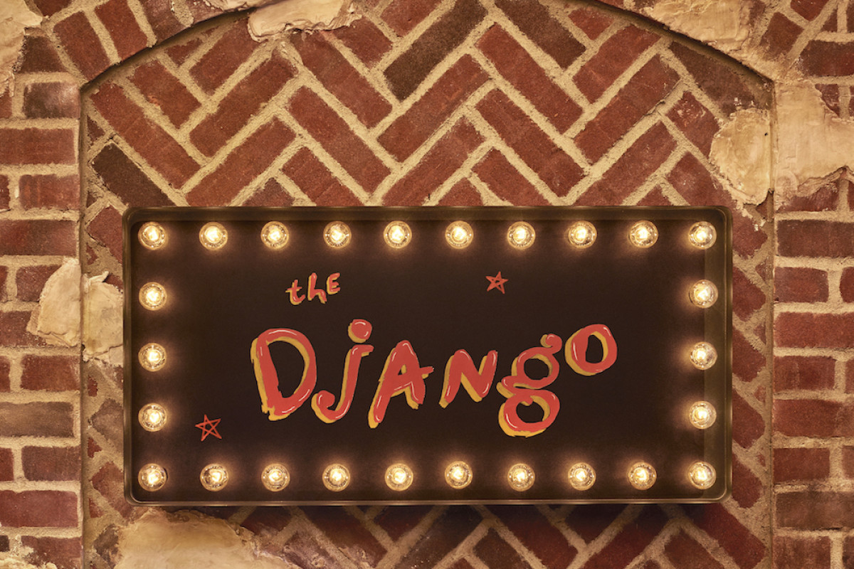 The Django NYC Sign