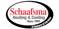 Website for Schaafsma Heating & Cooling Company