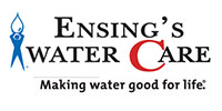 Website for Ensing's WaterCare, Inc.