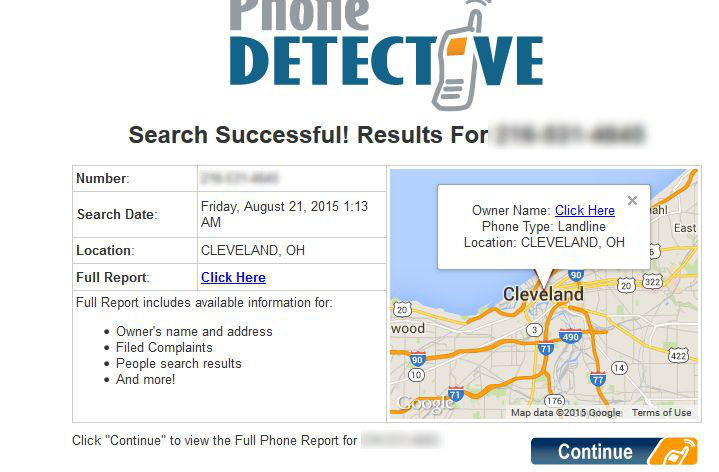review of phone detective