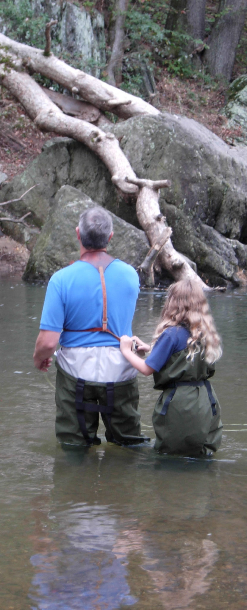 Guided fly fishing on the gunpowder river