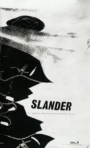 Slander #8  Cover